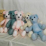 Teddy Bear Sewing Pattern (Rossella Usai)