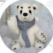 Teddy Bear Sewing Pattern (Xenia Frost)