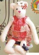 Teddy Bear Sewing Pattern (Katia Kowas)