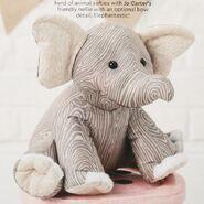 Elephant Plushie Sewing Pattern (Jo Carter)