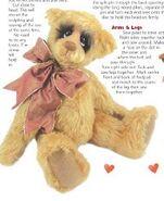 Teddy Bear Sewing Pattern (Monica Spicer)
