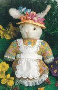 Rabbit Hand Puppet Sewing Pattern (Cheryl Owen)