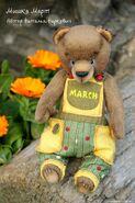 Teddy Bear Sewing Pattern (Natalia Narkevich)