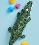 Crocodile Plushie Sewing Pattern (Jo Carter)