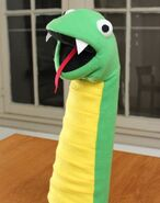 Python Hand Puppet (Hello World Program)