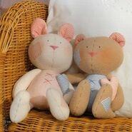Teddy Bear Sewing Pattern (Tone Finnanger)