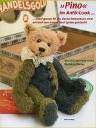 Teddy Bear Sewing Pattern (Richard van Aalst)