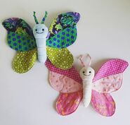 Butterfly Plushie Sewing Pattern (Jo Carter)