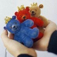 Teddy Bear Sewing Pattern 11 (Ikuyo Kasuya)