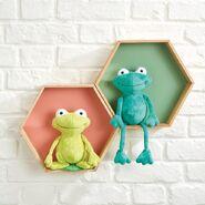 Frog Plushie Sewing Pattern (Jo Carter)