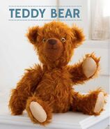 Teddy Bear Sewing Pattern (Abby Glassenberg)