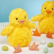 Chick Plushie Sewing Pattern (Jo Carter)