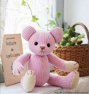 Teddy Bear Sewing Pattern (Teranishi & Erico)