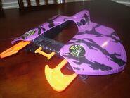 Manta ray purple