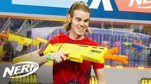 NERF - 'Fortnite AR-L Blaster Review' w @LordDraconical