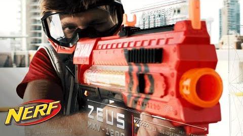 NERF – 'Rival Zeus MXV-1200 Blaster' Official T.V