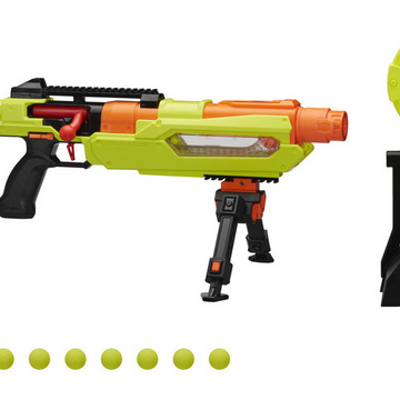 Nerf Rival Blaster Jupiter XIX-1000 Edge Series with Target and 10 Rounds Shot