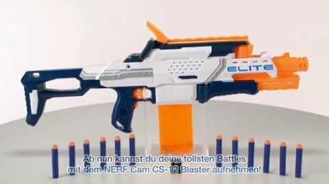 """Nerf Deutschland Produktdemo """"N-Strike Elite Nerfcam ECS 12"""""""