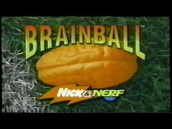 Brainball Nick & Nerf Backwards Basketball Toy TV Commercial