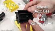 Buzz Bee Air Warriors Rail Adapter - Toy Fair 2017 Preview