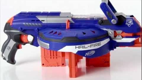 NERF N-Strike Elite HAIL-FIRE - commercial presentation (by Hasbro)