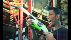 Banzai Pistola de dardos