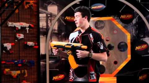 NERF Product Tips Dart Tag Quick 16 Blaster Toy