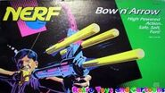 Nerf Bow 'n' Arrow 1992 Commercial Retro Toys and Cartoons