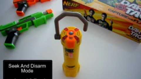 Nerf Dart Tag Capture The Flag - Electronic Flag