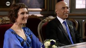 Bruiloft van Mo Fawzi en Bianca Bomans