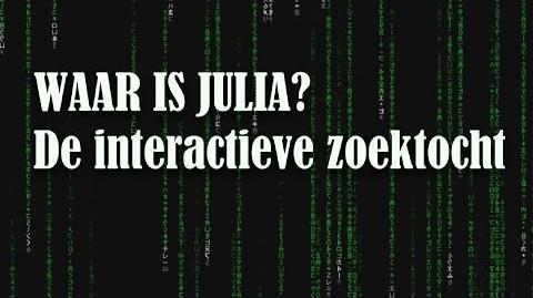 THUIS - WAAR IS JULIA? - Interactieve Zoektocht