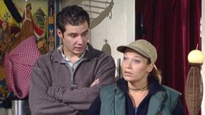 Robbe Cannaerts en Peggy Verbeeck