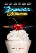 Gunpowder Milkshake Teaser Poster