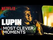 Assane's Most Clever Moments - Lupin - Netflix