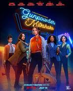 Gunpowder Milkshake Poster 01