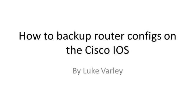 How_to_save_router_configs_in_the_cisco_IOS