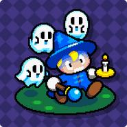 Drop Wizard Halloween