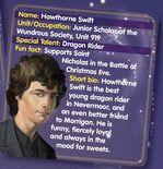 Nevermoor HawthorneFacts