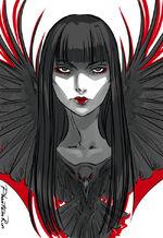 Mia Corvere by PhantomRin, Crow