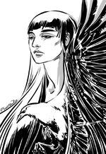 Mia Corvere by PhantomRin, Flight