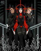 Tric, Mia and Ashlinn by Monolimeart