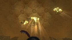 The Vault of the Nine-Ceiling over the final boss.jpg