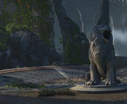 The Vault of the Nine-Entrance LION.png