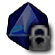 Icons Companion Dice Sapphire D8 Locked.png