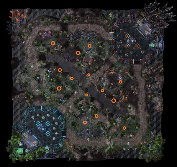 Warding Map