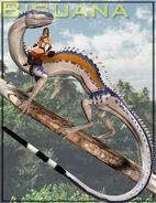 Biguana-e28093-riding-lizard