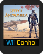 Wii Control Cartucho Effect Andromeda