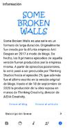Some Broken Walls 1.0 - Información