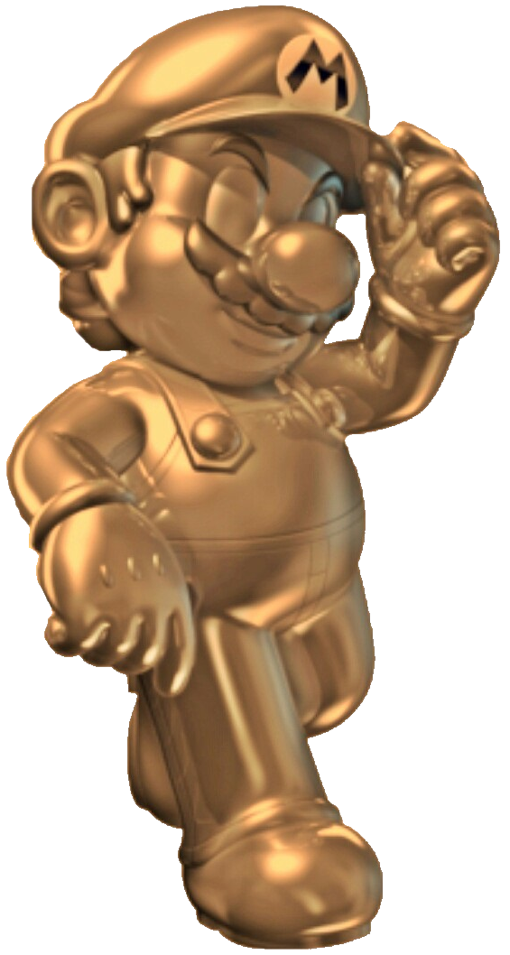 Golden Metal Mario