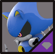IN Metal Sonic Icon